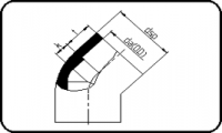 45° Bend