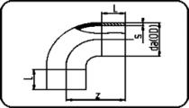 90° Bend - 300mm