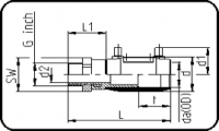 E-Adapter Socket - Steel - Male