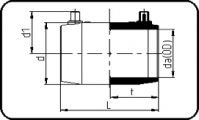 E-Coupler - 16 Bar / Gas 10 Bar - PE100 RC Black