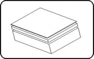Sheet - 4000 x 2000mm - Black - PE100