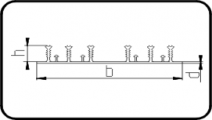 Waterstop Profile 6-Ribs
